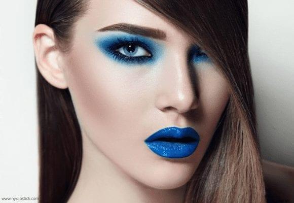 Blue Lipstick Shades: My Experience