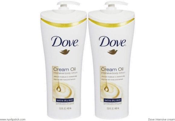 What Dove Cream Oil Intensive Body Lotion Guarantees