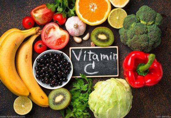 hair density Vitamin C