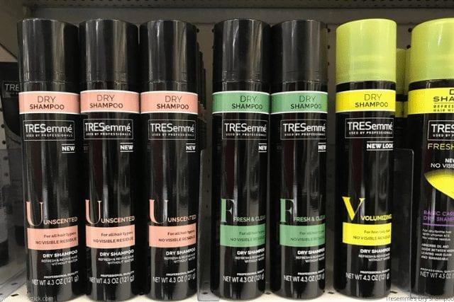Tresemme's Dry Shampoo